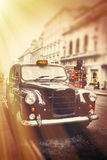 Old cab Royalty Free Stock Photography