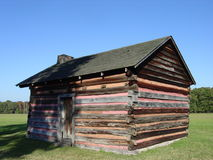 Old Cabin. An old one room cabin at the Chickamauga Battlefield Stock Photo