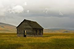 Old Cabin Stock Photography