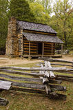 Old Cabin. John Oliver's historic cabin located in Cades Cove, Tennessee Stock Images