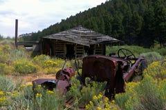 Comet Montana Ghost Town Shack Stock Photos