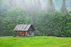 Old cabin Stock Images