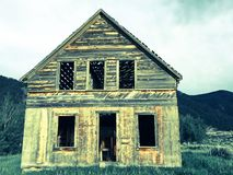 Old cabin in the mountains. Stock Image