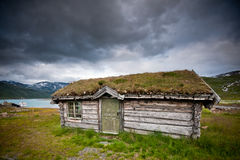 Old cabin in Norway. Stock Photo