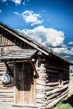 Old Cabin on the Plains Stock Images