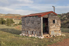 Old cabin in Rocky Mountains Royalty Free Stock Photography