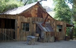 Old cabin. Stock Photography