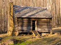 Old cabin in Smoky Mountains Stock Photography
