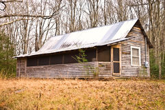 Old Cabin in the Woods Royalty Free Stock Images