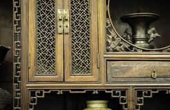 An old cabinet Royalty Free Stock Photography