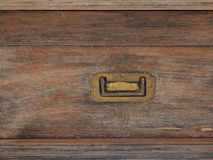Old cabinet. Isolated old rusty and dirty chest door photo Royalty Free Stock Photos
