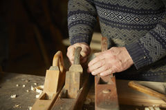 Old cabinet-maker Stock Image