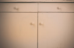 Old cabinet Royalty Free Stock Photography
