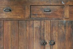Old Cabinetry Royalty Free Stock Image