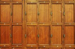 Old Cabinets Royalty Free Stock Images