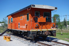 An old caboose Royalty Free Stock Photo