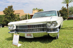 Old Cadillac Car at the car show Royalty Free Stock Photography
