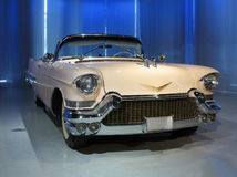Old Cadillac Car. A old Cadillac car in exhibition hall Royalty Free Stock Image