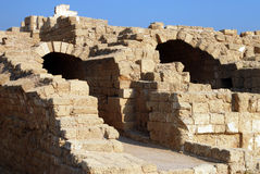 Old Caesarea in Israel Royalty Free Stock Photo