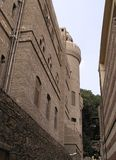 Old Cairo, Egypt, Africa. Houses and narrow street of Coptic area Royalty Free Stock Photo