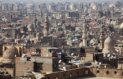Old Cairo view, Egypt Stock Image