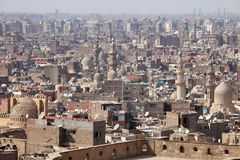 Old Cairo view, Egypt Stock Photography