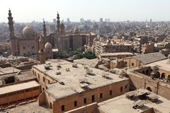 Old Cairo view, Egypt Royalty Free Stock Photography