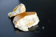 Old cake bread on table Stock Images