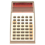 Old calculator. Royalty Free Stock Photography
