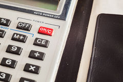 Old Calculator Stock Image
