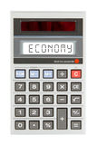 Old calculator - economics Royalty Free Stock Photos