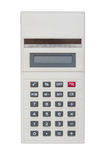 Old calculator isolated Royalty Free Stock Image