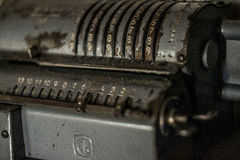 Old calculator Royalty Free Stock Photos