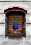 An old call-box Stock Image