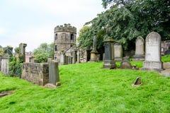 Old Calton Burial Ground Cemetary in Edinburgh. EDINBURGH - AUG. 30, 2017: Old Calton Burial Ground Cemetery near Calton Hill in the Old City of Edinburgh Stock Photos