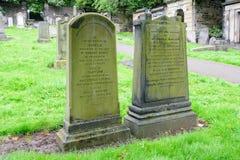 Old Calton Burial Ground Cemetary in Edinburgh. EDINBURGH - AUG. 30, 2017: Old Calton Burial Ground Cemetery near Calton Hill in the Old City of Edinburgh Stock Photography