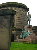 Old Calton Graveyard royalty free stock photography
