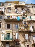 Old Calvi buildimgs Royalty Free Stock Image