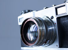 The old camera Royalty Free Stock Images