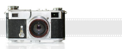 The old camera Stock Photo