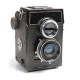 Old Camera. Royalty Free Stock Photo