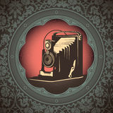 Old camera. royalty free illustration