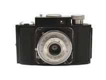 Old camera. Old photographic camera Royalty Free Stock Photography