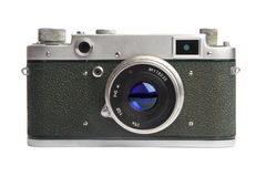 Old camera - 1950-1960 years.  Stock Photography