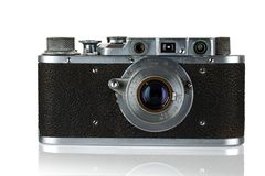 The old camera. Royalty Free Stock Photos