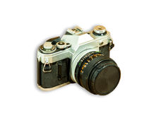 Old camera. Stock Images
