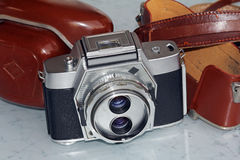 The old camera Stock Photography