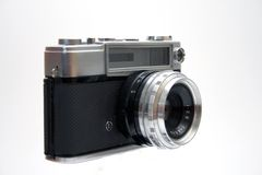 Old camera. Some old and antiques cameras Royalty Free Stock Images