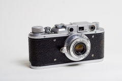 An old camera. A 80 year's camera, though old fashion, still memorable Stock Photos