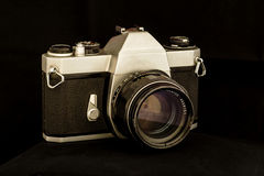 Old Camera. Royalty Free Stock Photography